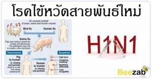 ไข้หวัดสายพันธ์ใหม่ ไข้หวัด2009 โรคติตต่อ โรคทางเดินหายใจ