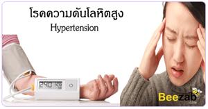 โรคความดันโลหิตสูง โรคความดัน โรคไม่ติดต่อ โรคระบบเลือด