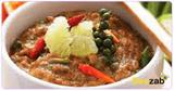 น้ำพริกพริกไทยสด อาหารไทย เมนูน้ำพริก อาหารคลีน