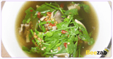 แกงเห็ดฟางใส่ผักหวาน อาหารไทย เมนูแกง อาหารคลีน
